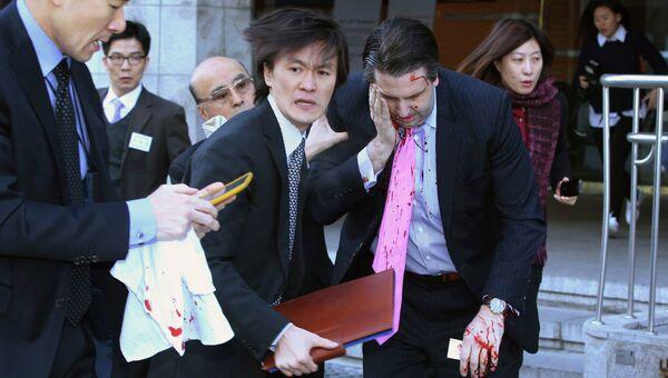 Посол США в Южной Корее Марк Липперт получил ранения в Сеуле