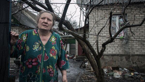Жительница поселка Чернухино. Архивное фото