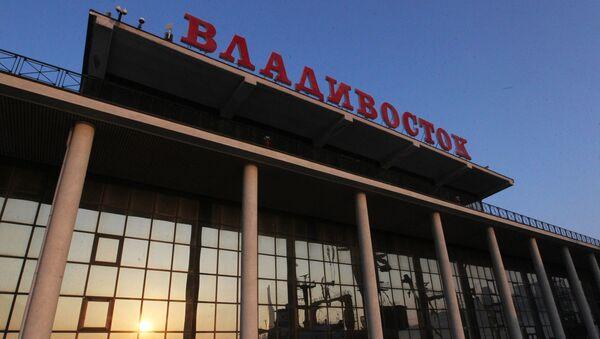 Здание морского вокзала во Владивостоке. Архивное фото