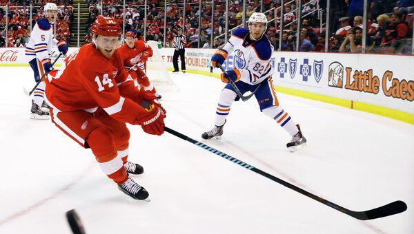 Матч Детройт Ред Уингз - Эдмонтон Ойлерз в НХЛ, 9 марта 2015