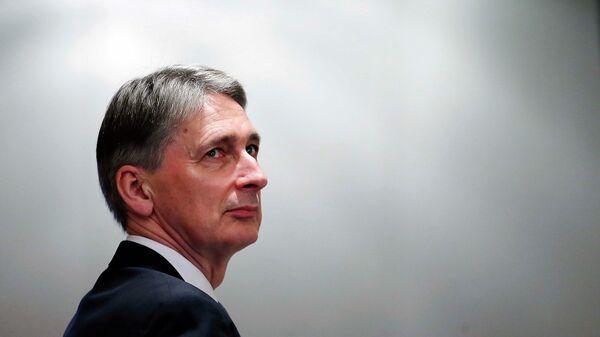 Министр иностранных дел Великобритании Филип Хаммонд. Архивное фото