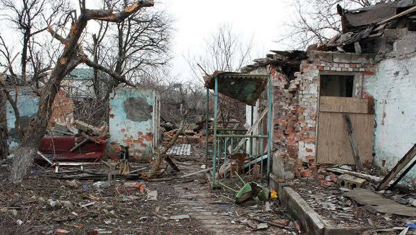 Ситуация в Донецке. 15 марта 2015
