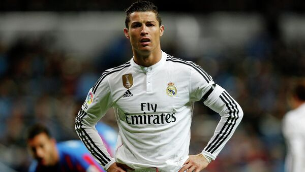 Футболист клуба Реал Мадрид Криштиану Роналду. Архивное фото