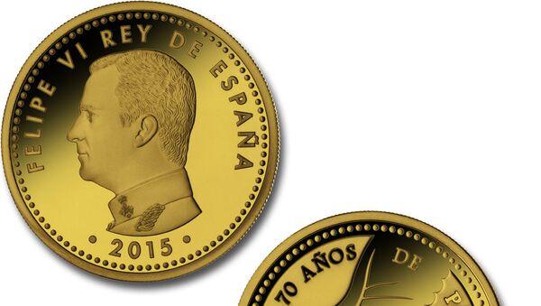 Монеты в честь 70-летия окончания Второй мировой войны, которые спровоцировали скандал в Испании