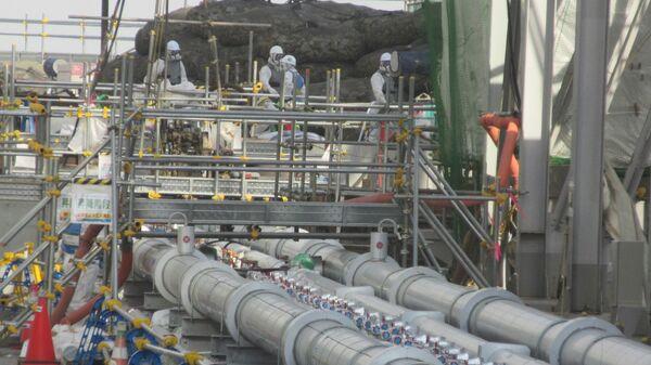 Проект заморозки почвы на АЭС Фукусима. Архивное фото