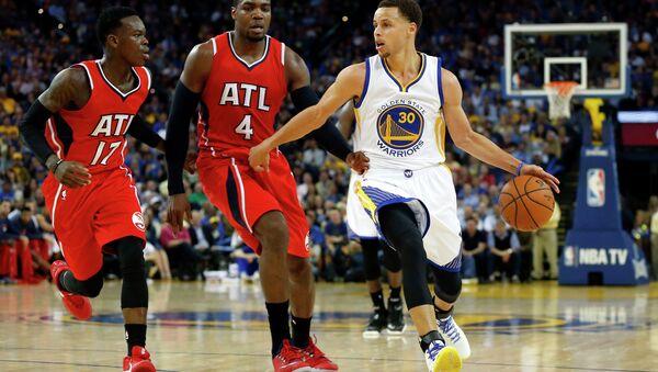 Баскетбольный матч Голден Стэйт - Атланта