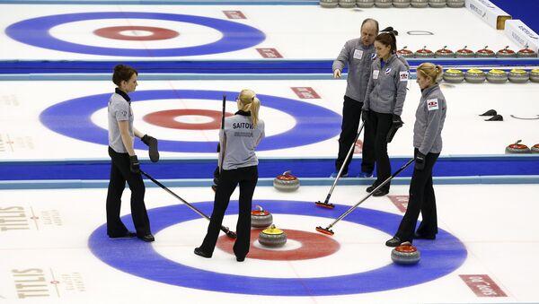Женская сборная России по керлингу на чемпионате мира в Японии