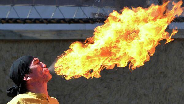 Празднование Навруза в окрестностях столицы Кыргызстана Бишкека. 21 марта 2015 год
