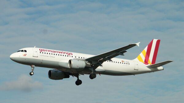 Самолет Airbus A320-231 компании Germanwings. Архивное фото