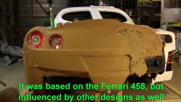 Итальянское изваяние: глиняный Ferrari