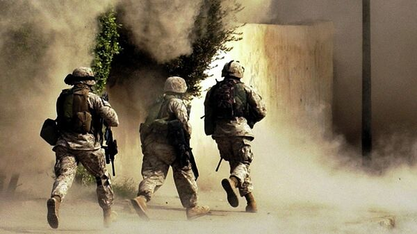 Морская пехота США в Ираке. Архивное фото