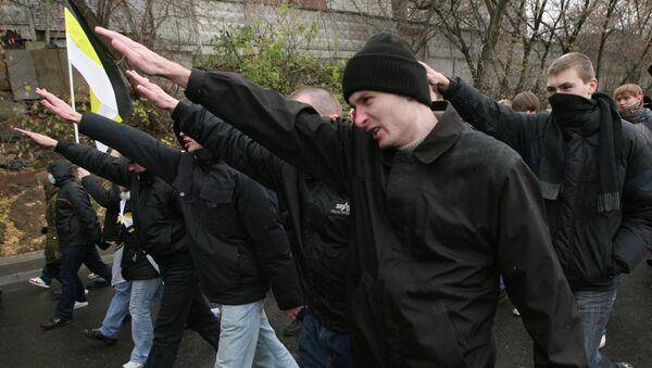 Русский марш праворадикальных движений. Архивное фото