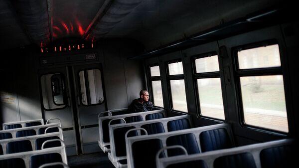 Электричка на Украине