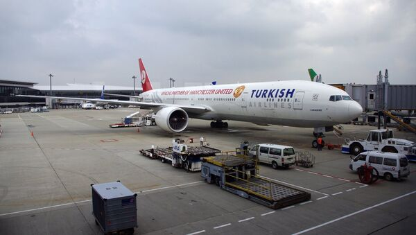 Boeing 777-300ER авиакомпании Turkish Airlines