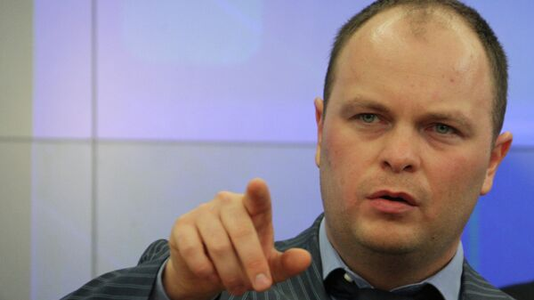 Председатель президиума Офицеров России Антон Цветков