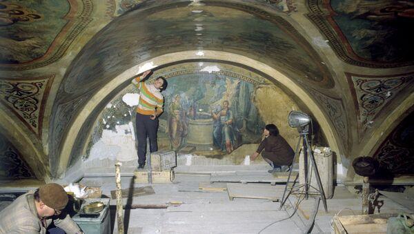 Реставрация фресок