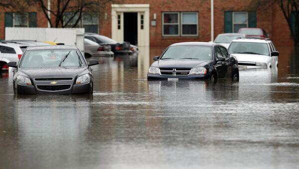 Наводнение в США, штат Кентукки
