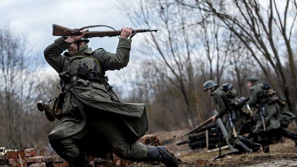 Военно-исторический фестиваль в Новгородской области