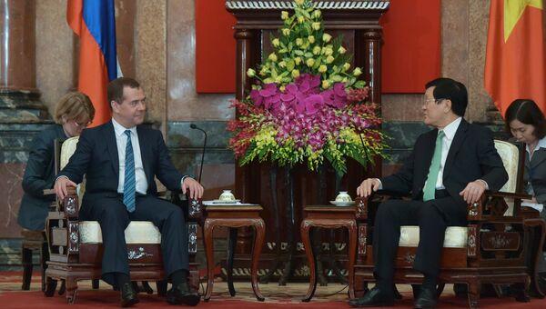Официальный визит премьер-министра Д.Медведева во Вьетнам. Архивное фото