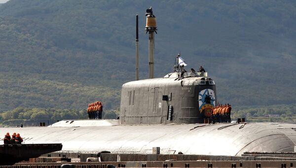 Атомная подводная лодка проекта 949А Антей Тверь в Вилючинске