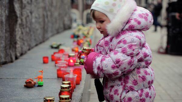 На вечере-реквиеме Прерванный полет... памяти детей, погибших за время конфликта на Донбассе. Архивное фото