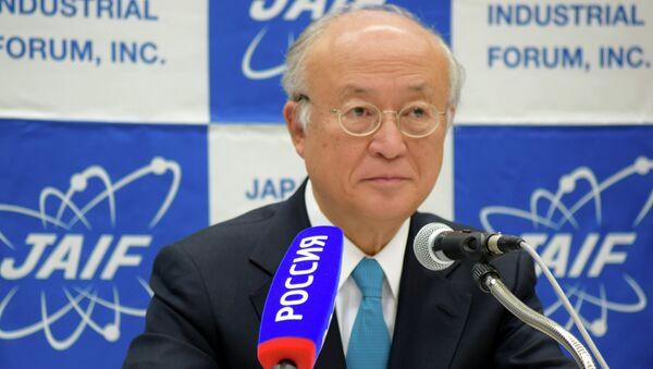 Глава МАГАТЭ Юкий Амано. Архивное фото