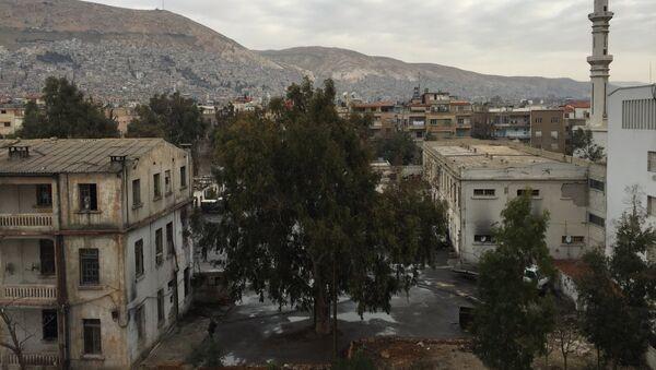 Вид на старый Дамаск. Архивное фото