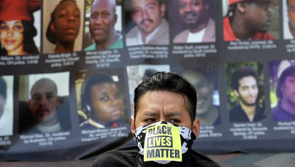 Протесты против жестокости полиции в Сиэтле, США