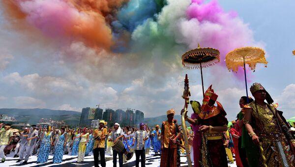 Новый год в Китае. Архивное фото