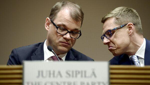 Лидер финской партии Центр Юха Сипиля