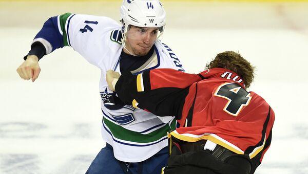 Матч НХЛ Калагри - Ванкувер