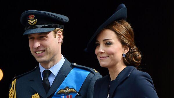 Герцог и герцогиня Кембриджские. Архивное фото