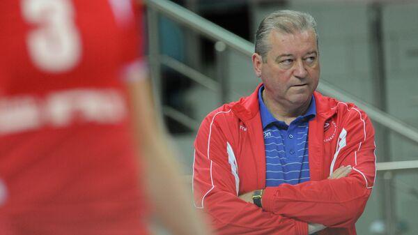 Заслуженный тренер России Олег Молибога