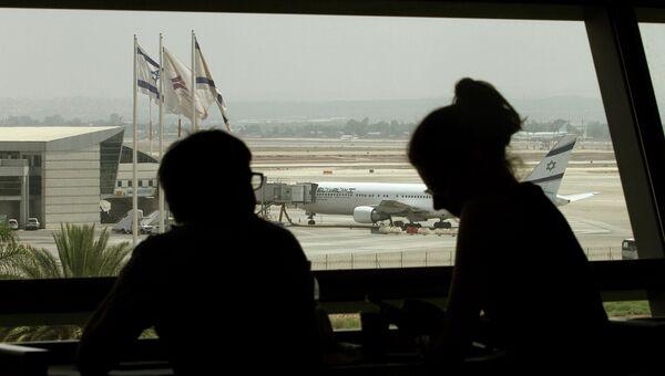 Аэропорт в Тель-Авиве. Архивное фото