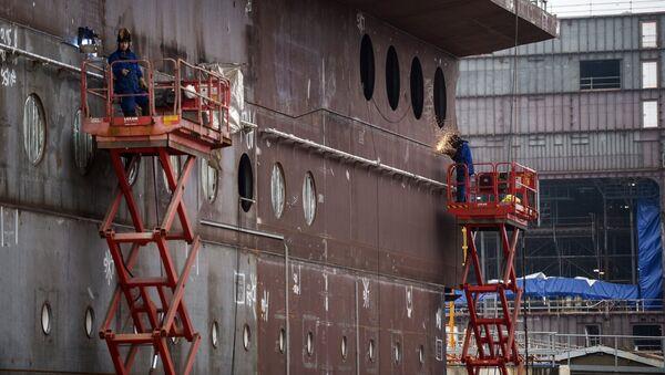 Cудостроительный завод. Архивное фото