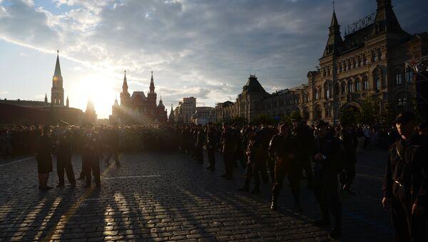 Праздничный концерт Россия, вперед! на Красной площади