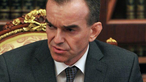 Заместитель губернатора Краснодарского края Вениамин Кондратьев. Архивное фото