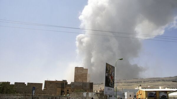 Последствия авиаударов ВВС коалиции по Йемену