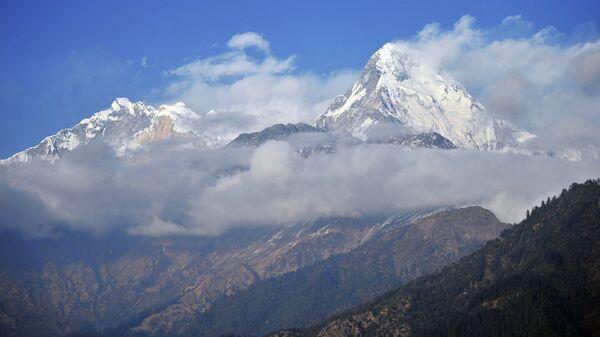 Зарубежные страны. Непал. Архивное фото