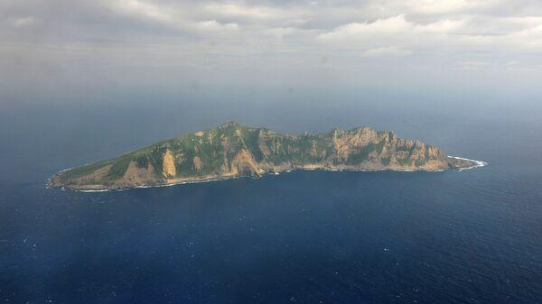Остров Сенкаку архипелаг в Восточно-Китайском море