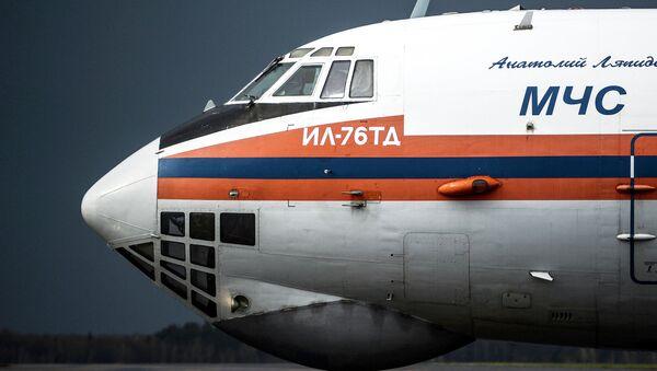 Самолет МЧС РФ. Архивное фото