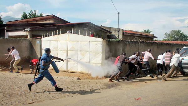 Ситуация в Бурунди. Архивное фото