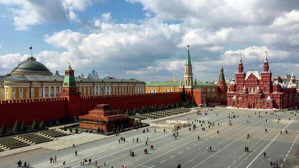 Красная площадь в Москве. Архивное фото