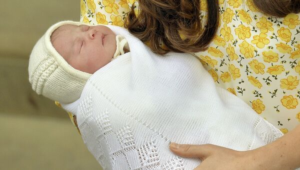 Новорожденная дочь герцогини Кембриджской Кейт и принца Уильяма