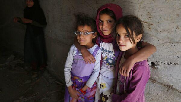 Дети в Йемене. Архивное фото