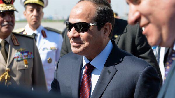 Президент Египта Абдель Фатах ас-Сиси