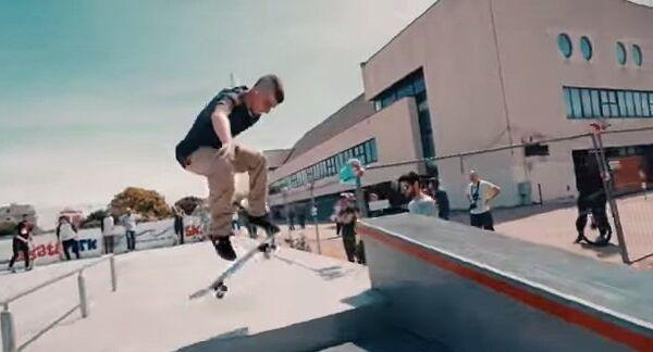 Невероятные трюки на скейте: чудеса на виражах