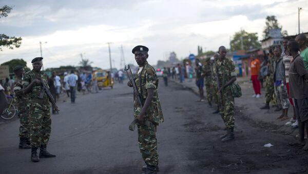 Солдаты в Бурунди