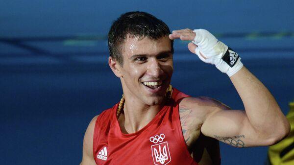 Украинский боксер Василий Ломаченко. Архивное фото