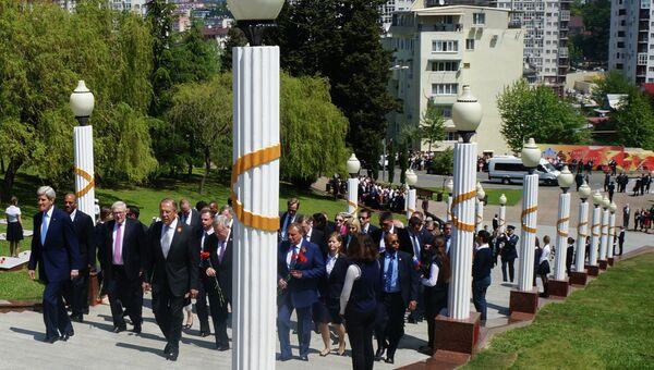 Встреча главы МИД РФ С. Лаврова и госсекретаря США Дж.Керри. Архивное фото.
